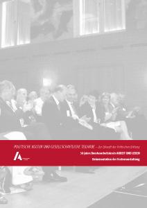 50 Jahre Bundesarbeitskreis ARBEIT UND LEBEN