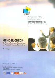 Gender Check - Eine Aktion zur Förderung der Balance von Beruf und Privatleben für Frauen und Männer in Europa