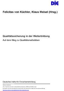 Aspekte zur Qualitätssicherung in der politischen Bildung