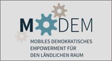 MoDem: Mobiles Demokratisches Empowerment für den ländlichen Raum